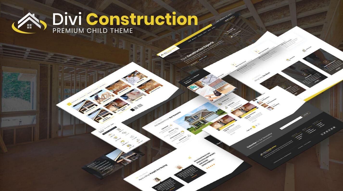 Divi Construction Child Theme by Pee-Aye Creative