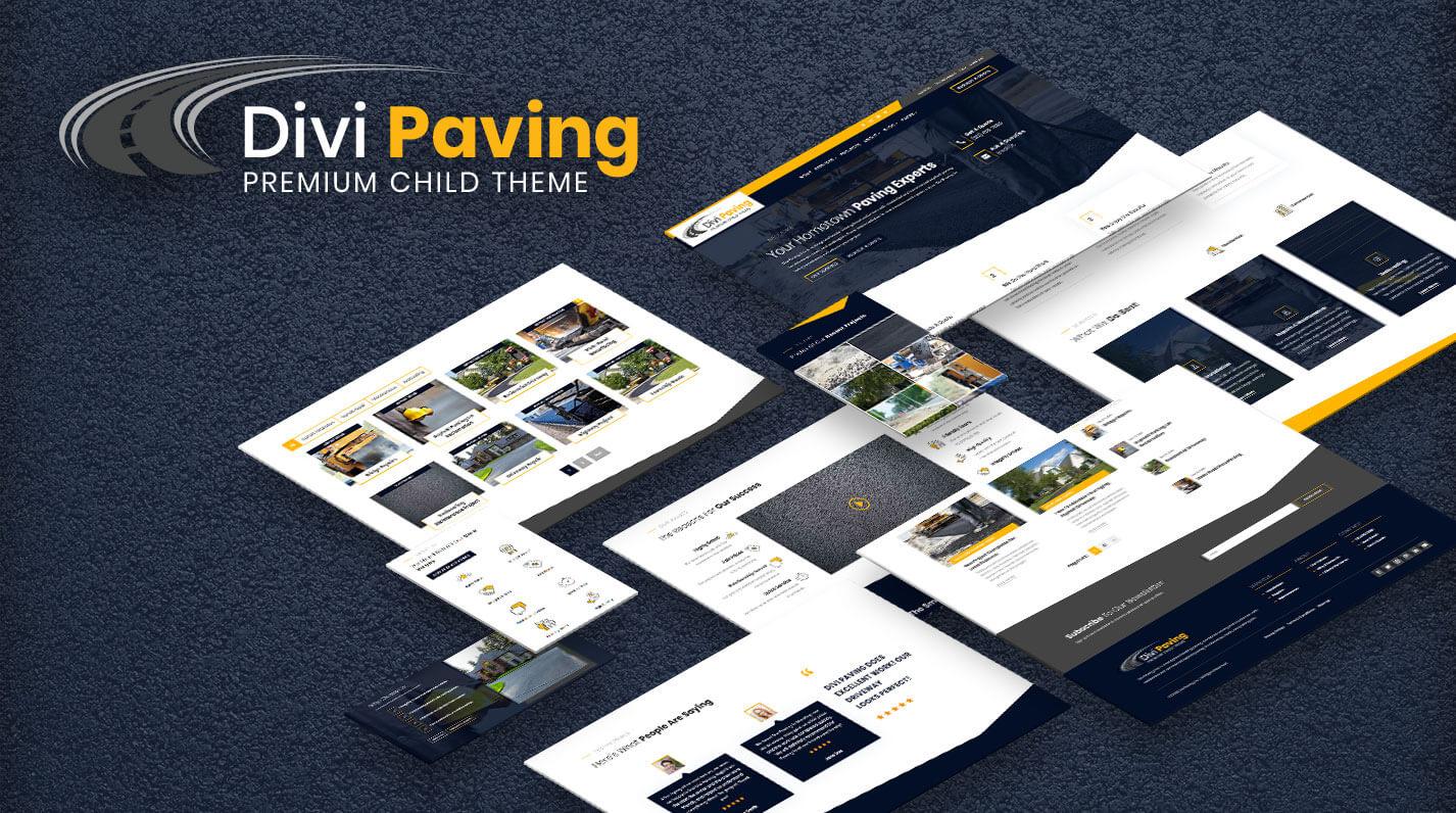 Divi Paving Child Theme by Pee-Aye Creative