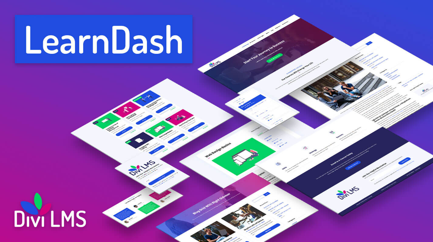 Divi LMS Child Theme for LearnDash by Pee-Aye Creative Product Featured Image