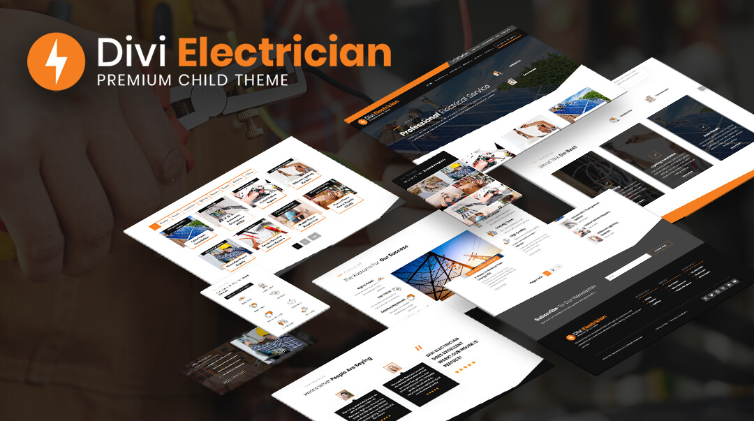 Divi Electrician Child Theme by Pee Aye Creative
